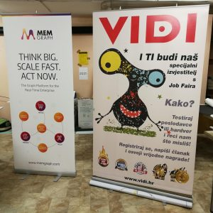Roll-up banner | 120x200cm